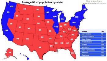 Интеллектуальная карта мира  - map 2004 us IQ map.jpg